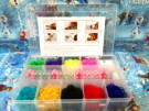 STARTER KIT BOX MEDIUM RAINBOW LOOM BAND GELANG