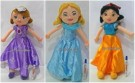 BONEKA PLUSH DOLL PRINCESS SOFIA THE FIRST CINDERELLA SNOW WHITE