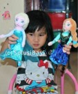 Boneka Plush Doll Frozen Disney Ukuran Mini