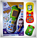 MUSIC CELLULAR PHONE FOR BABY and KIDS Mainan Edukatif Anak Telepon Interaktif