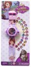 JAM TANGAN PROYEKTOR ANAK MASHA SOFIA FROZEN HELLO KITTY MINNIE CARS PLANES ANGRY BIRD PRINCESS