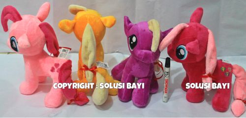 boneka my little pony kecil ukuran kecil solusibayi
