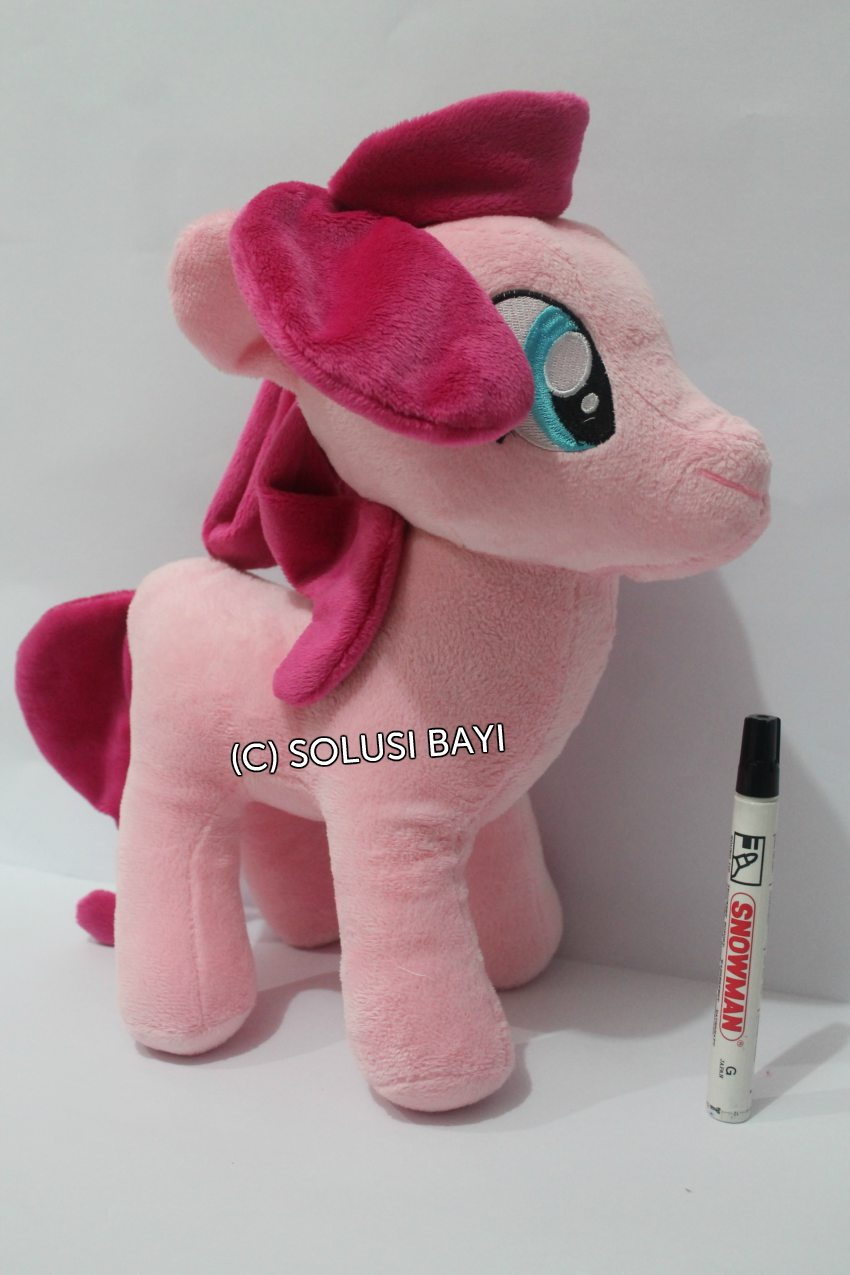 BONEKA MY LITTLE PONY KUDA MAINAN EDUKATIF ANAK  WARNA PINK 1
