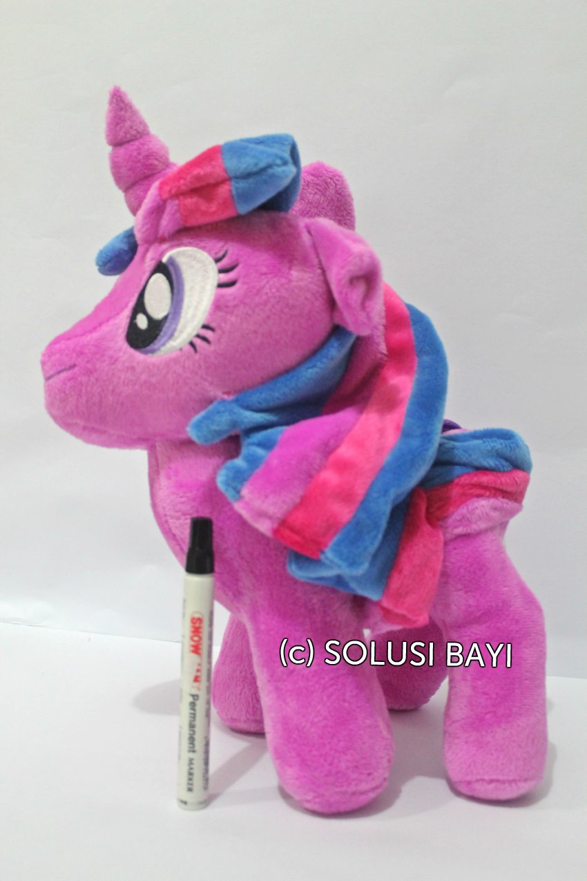 BONEKA MY LITTLE PONY KUDA MAINAN EDUKATIF ANAK  WARNA UNGU 1