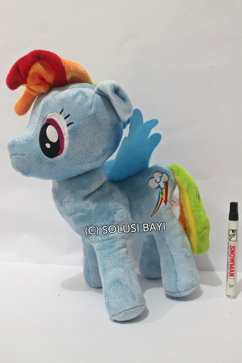 BONEKA MY LITTLE PONY KUDA MAINAN EDUKATIF ANAK  WARNA biru 1