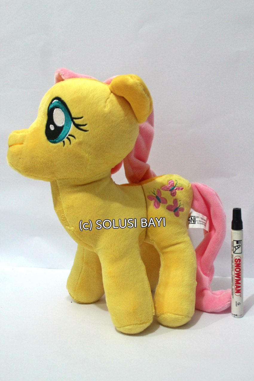 BONEKA MY LITTLE PONY KUDA MAINAN EDUKATIF ANAK  WARNA kuning 1-1