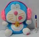 BONEKA DORAEMON LAMPU GLOW IN THE DARK