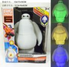 Figur Baymax Lampu Glow In The Dark