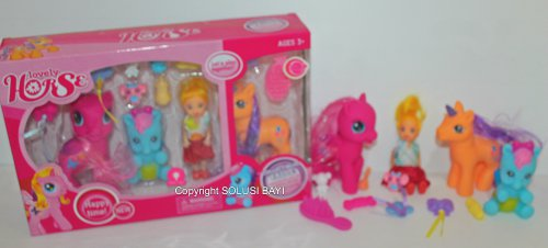 boneka mainan my little pony