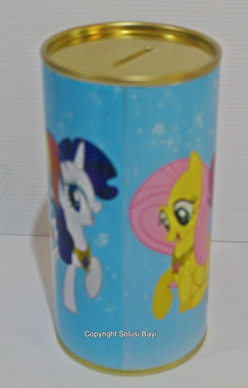 celengan my little pony biru