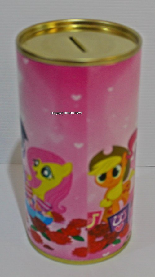 celengan my little pony pink