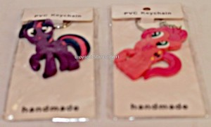 gantungan kunci keychain my little pony twilight sparkle pinky pie