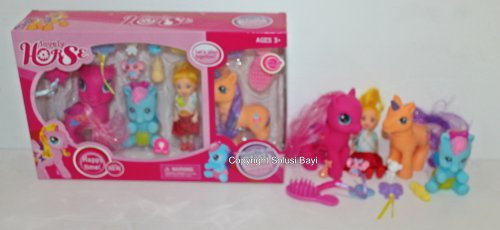 mainan boneka my little pony
