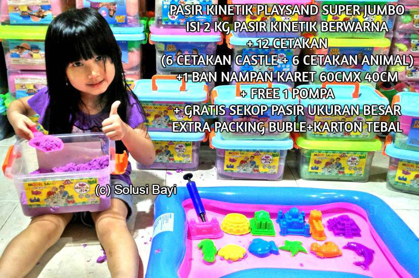 pasirkinetik playsand superjumbo 2kg mainan edukatif anak kinetic sand1a