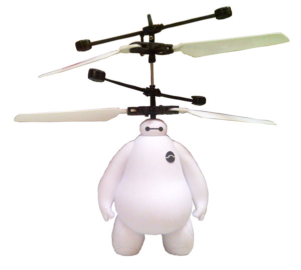 flying baymax 1
