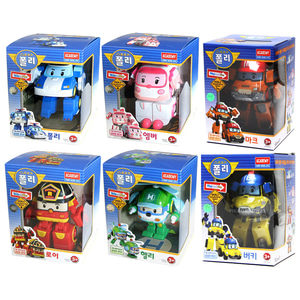 Figur Robocar Poli Transform 1 Set 6pcs