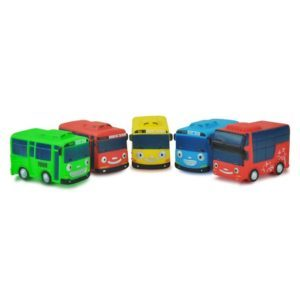 Figur Tayo Little Bus Mobil Mobilan