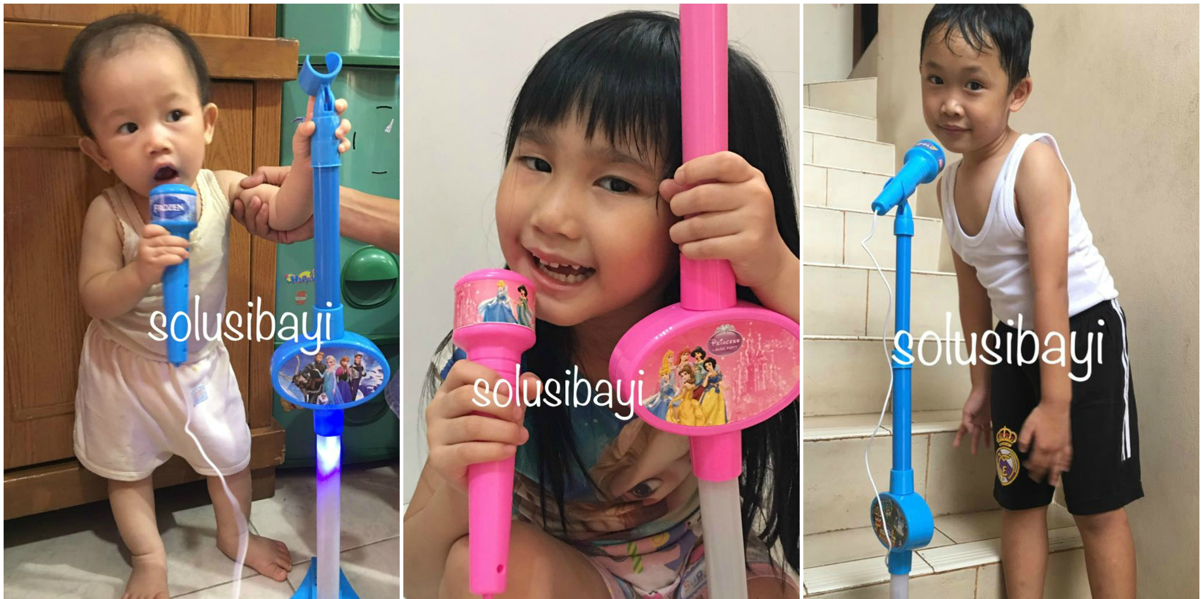 Mainan Anak Perempuan Standing Mic Music Party